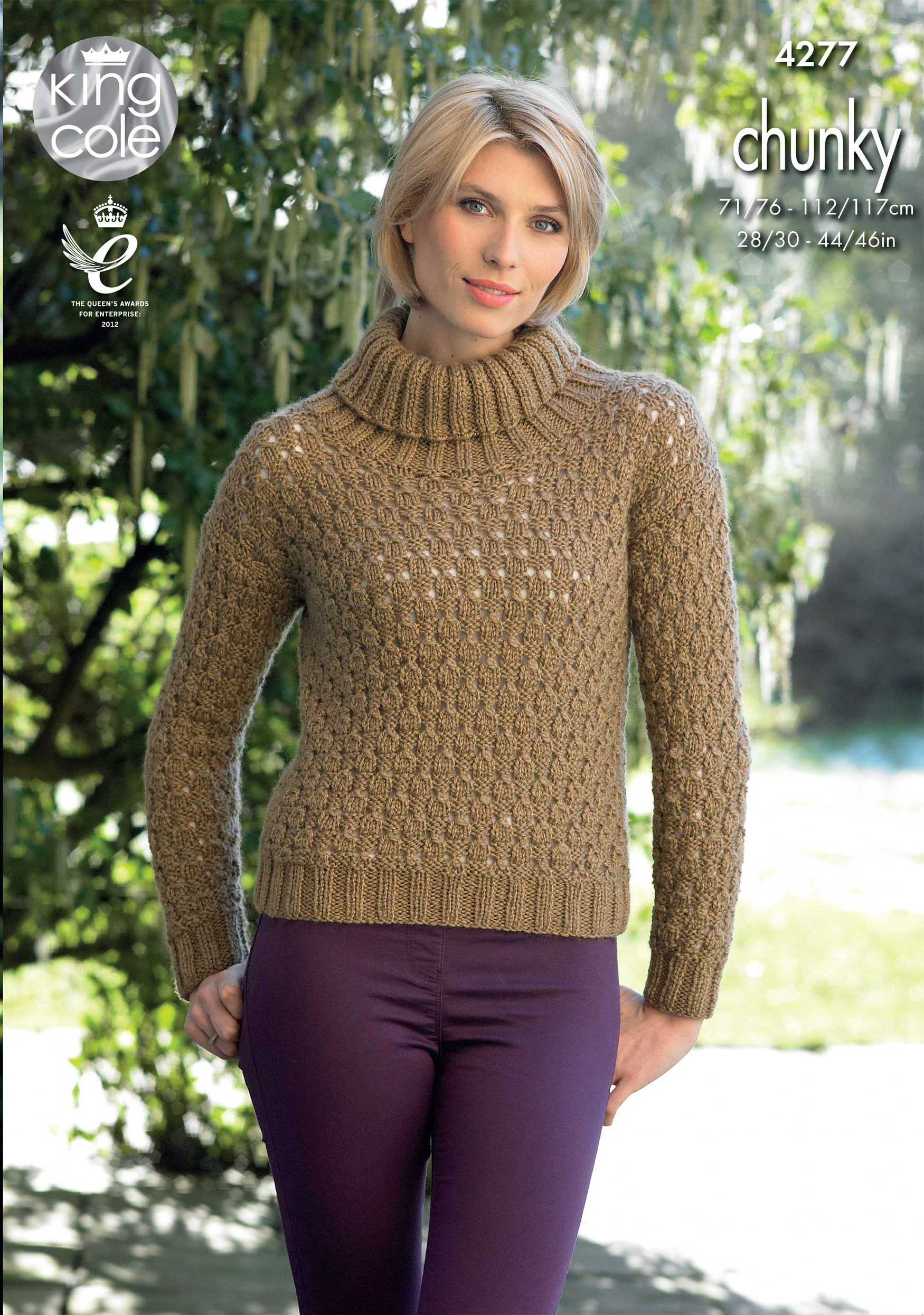 Easy to Follow Waistcoat and Sweater Knitted with New ...