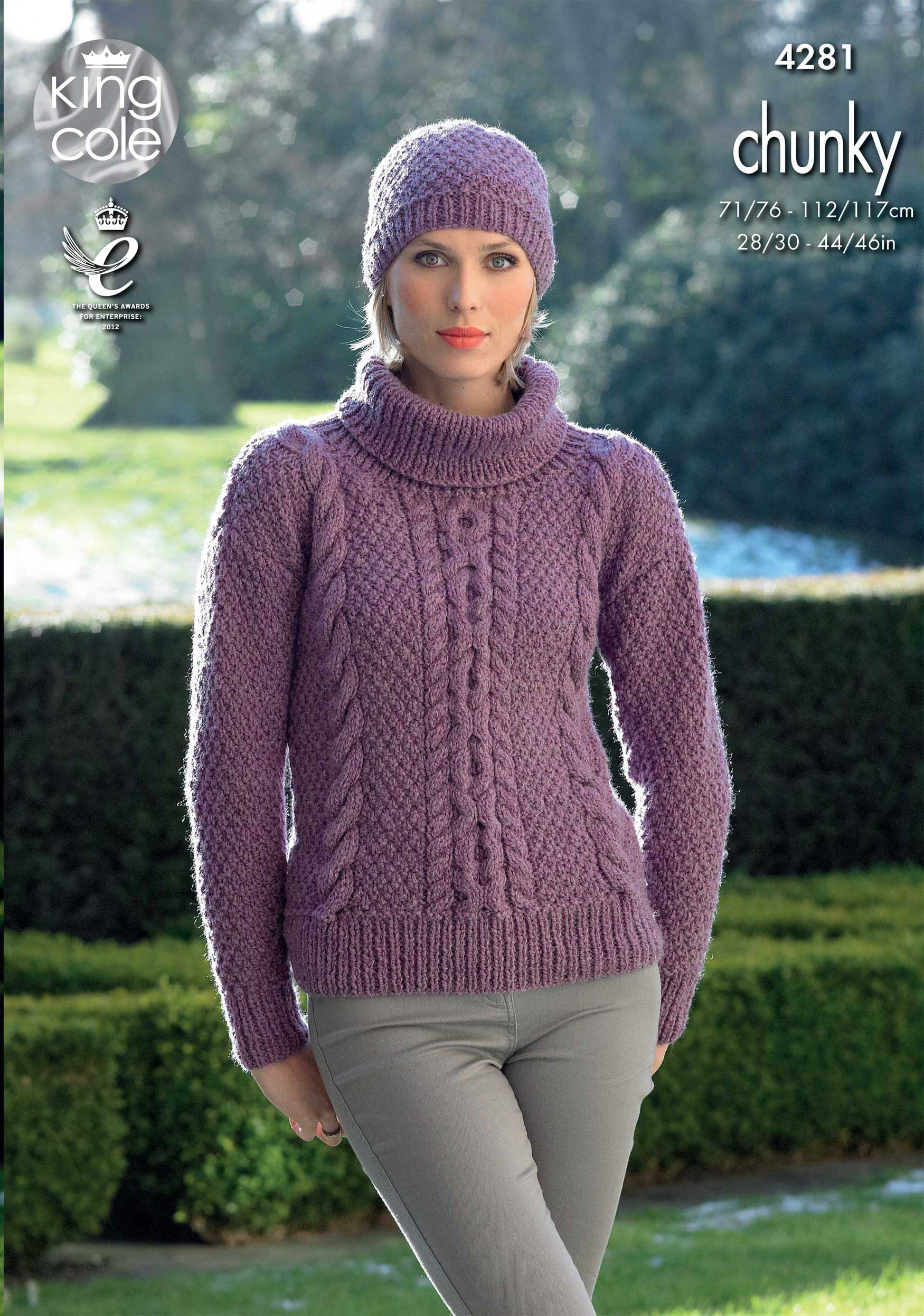 Easy to Follow Sweaters and Hat Knitted with New Magnum ...