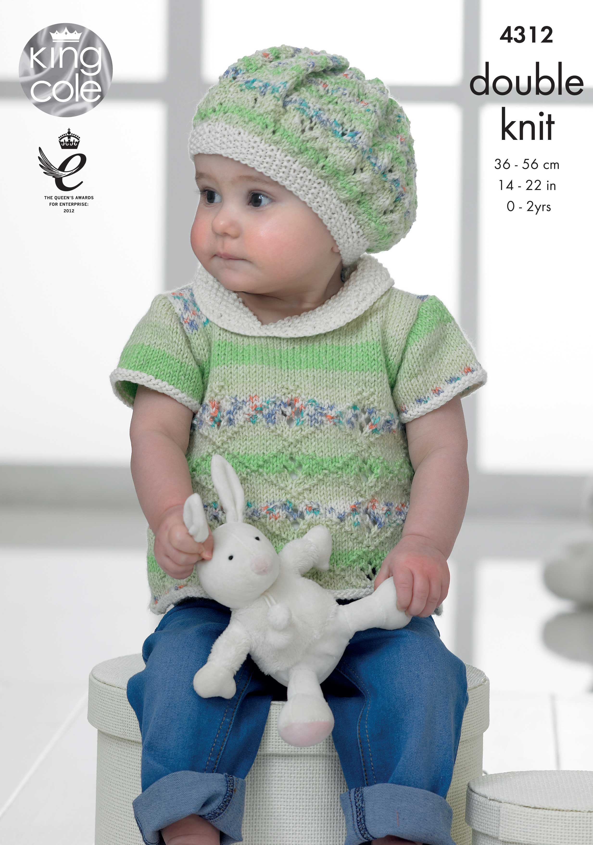 Easy to Follow Baby Set Knitted with Drifter for Baby DK ...