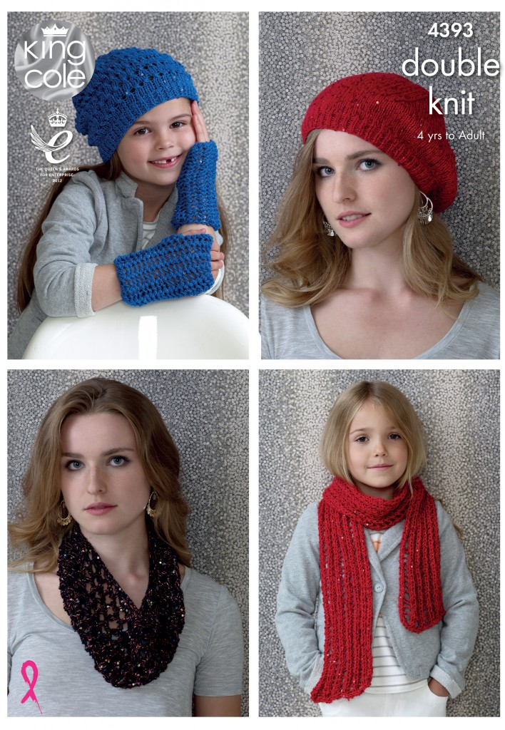 Easy to Follow Hats, Scarf & Snood Knitted with Cosmos ...