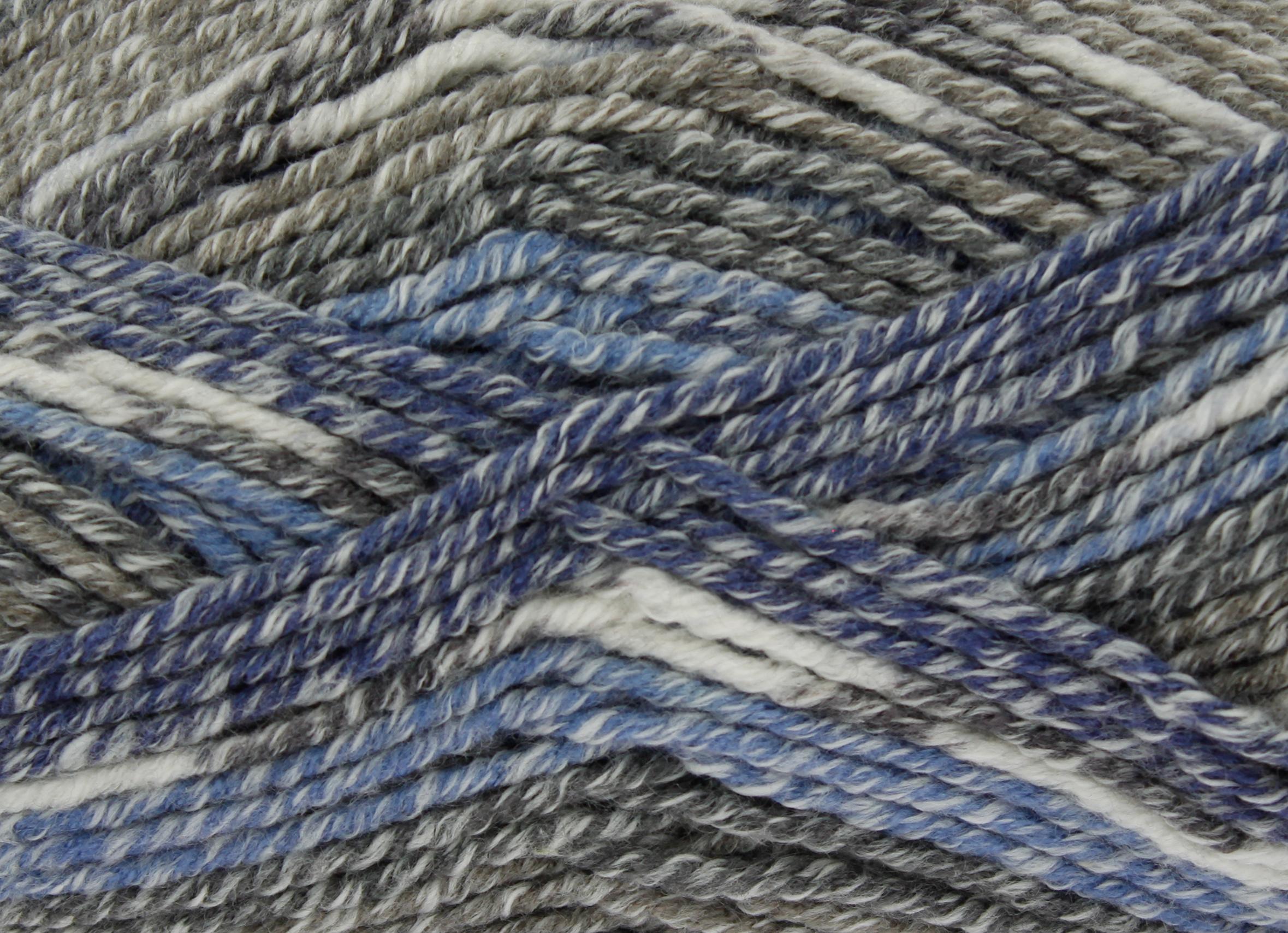 King Cole Drifter Chunky Knitting Yarn Cotton Acrylic Wool 100g Ball