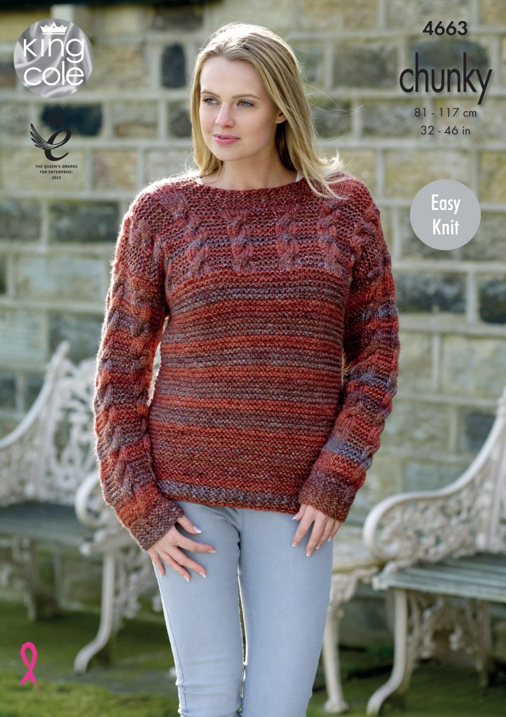 Easy To Follow Sweater Amp Cardigan Knitted With Corona