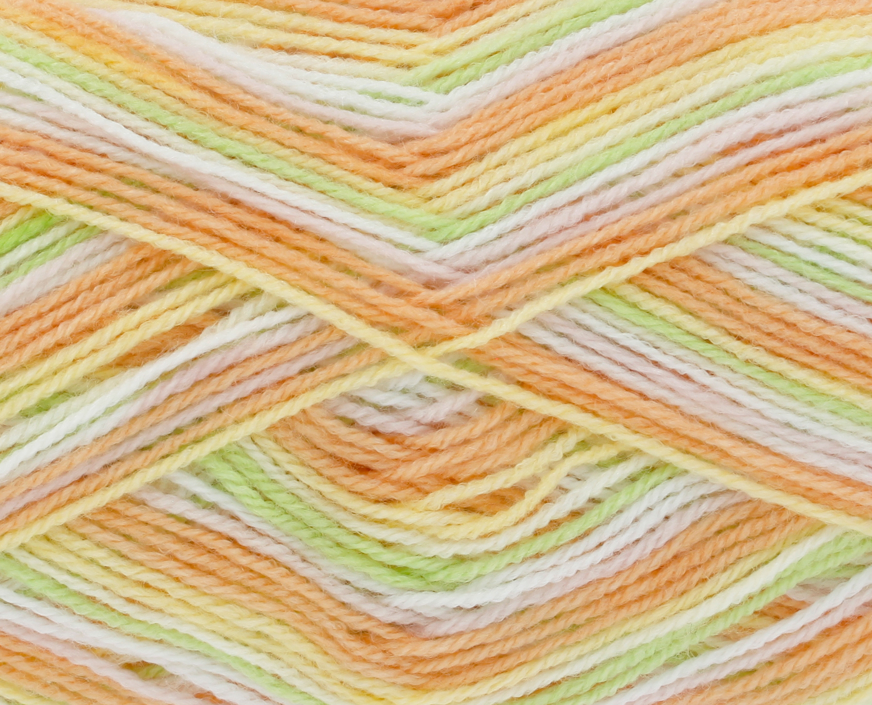 King Cole BABY PRINT 4PLY Double Knitting Wool 3262 RAINBOW Yarn 100g