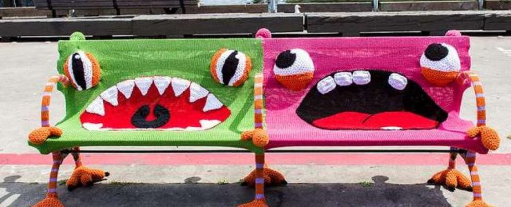 yarn bombing day
