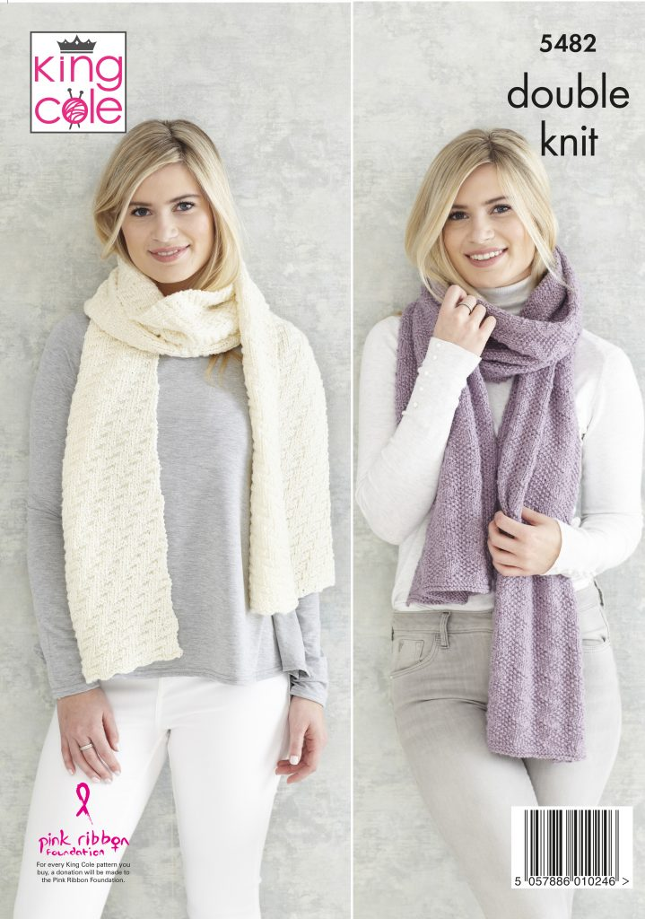 Easy To Follow Childs Hat Scarf Amp Ladies Shawls Knitted