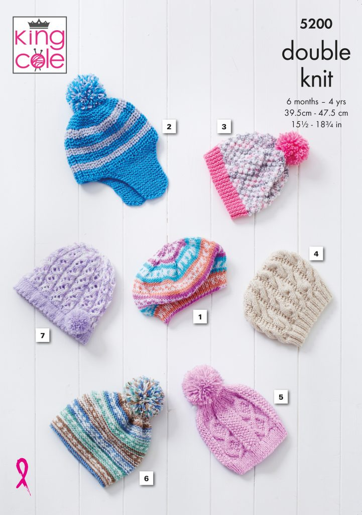 Easy to Follow Hats: Knitted in Cherished DK Knitting ...