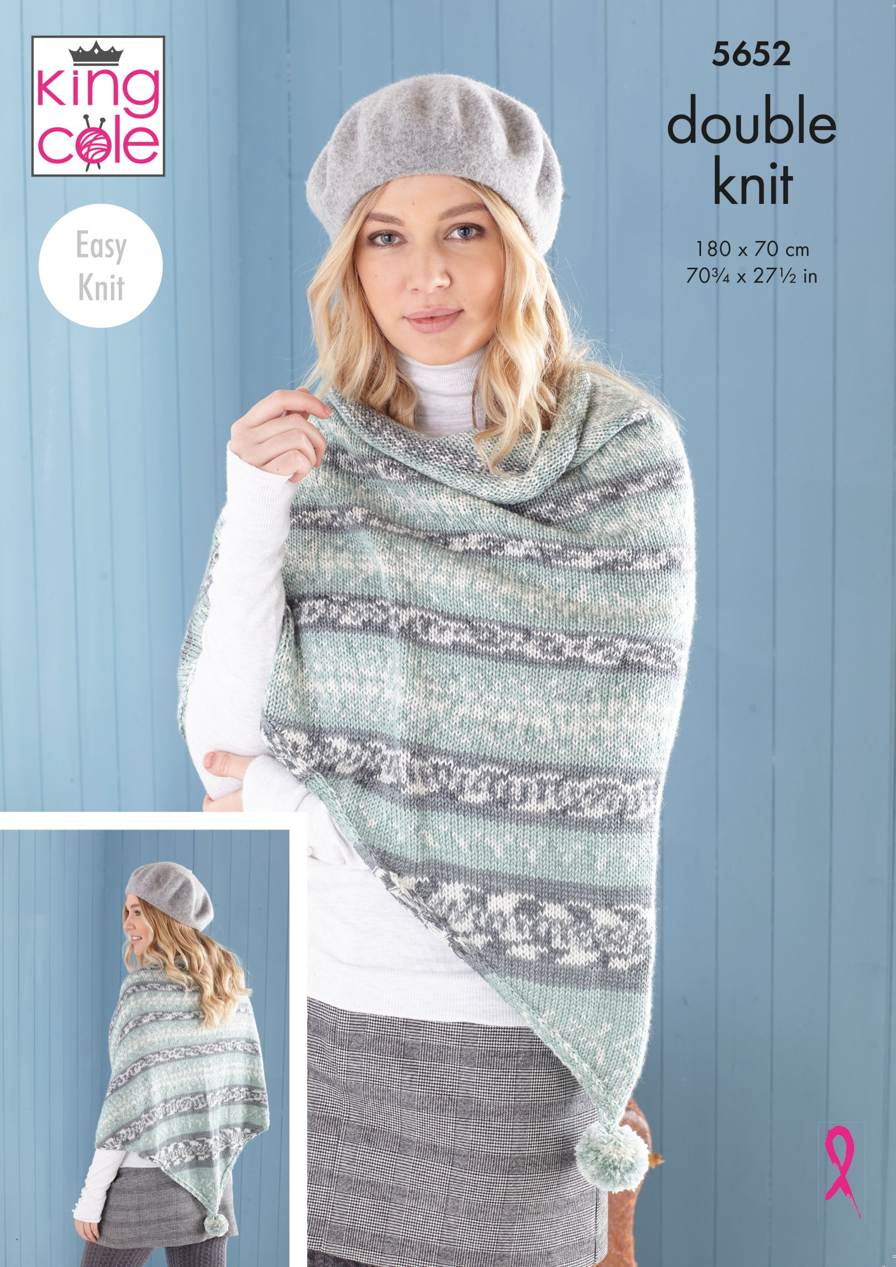Easy to Follow Ladies Poncho, Snood & Shawl: Knitted in ...